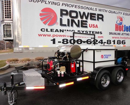 POWER WASH TRAILER MOUNTED 35HP