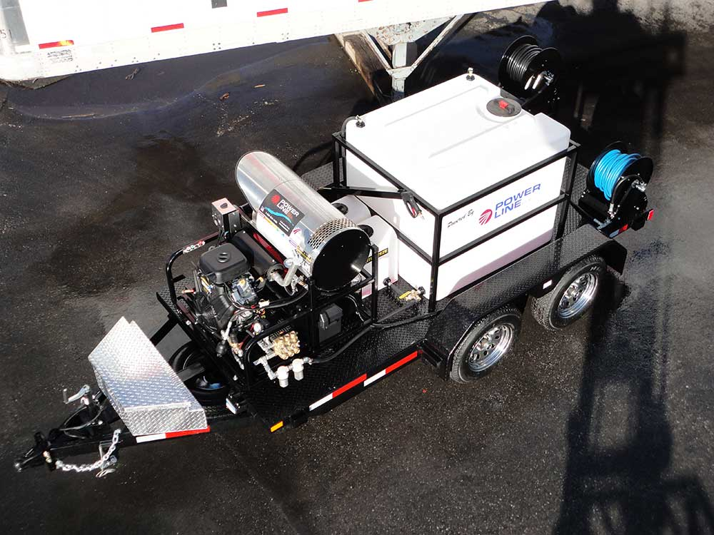 26HP Diesel Powered Trailer Mounted Pressure Washer HD26 - PowerWash Industries1