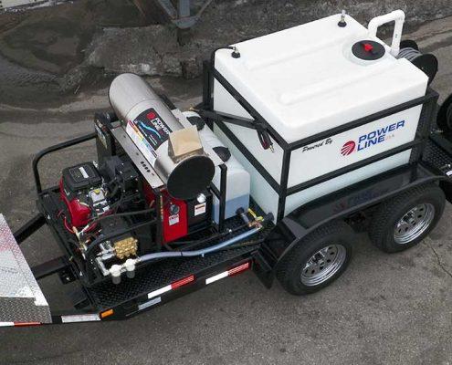 Power Wash Trailer Mounted Pressure Washer 23HP